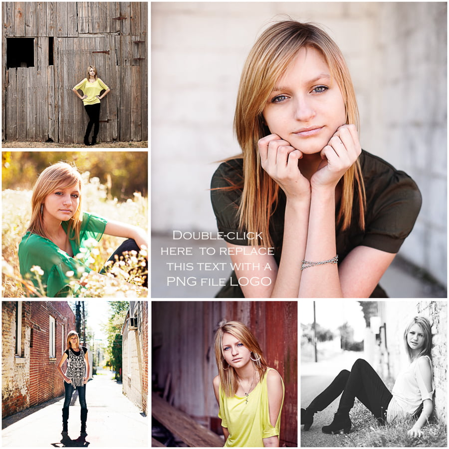 senior photo collage templates - what are lightroom templates for flourish free
