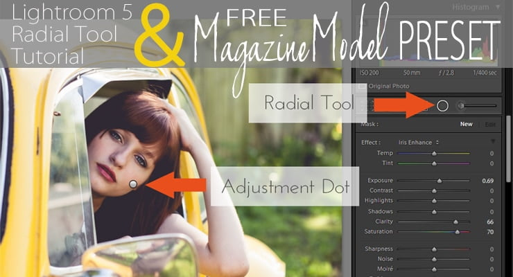Magazine Model Inspired | Free Lightroom 5 Preset