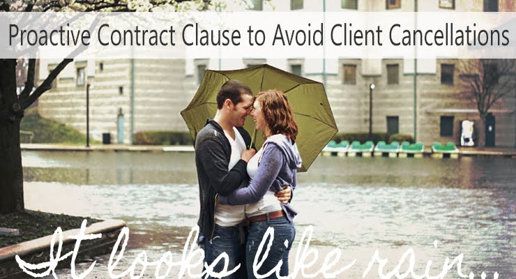 Excuses, Excuses!  Proactive Contract Clause to Avoid Client Cancellations