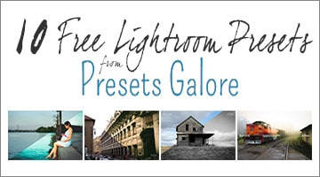 Free Lightroom Presets from Presets Galore - PF1