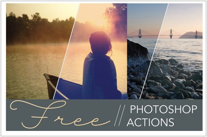 Free Photoshop Actions from Dreamstale