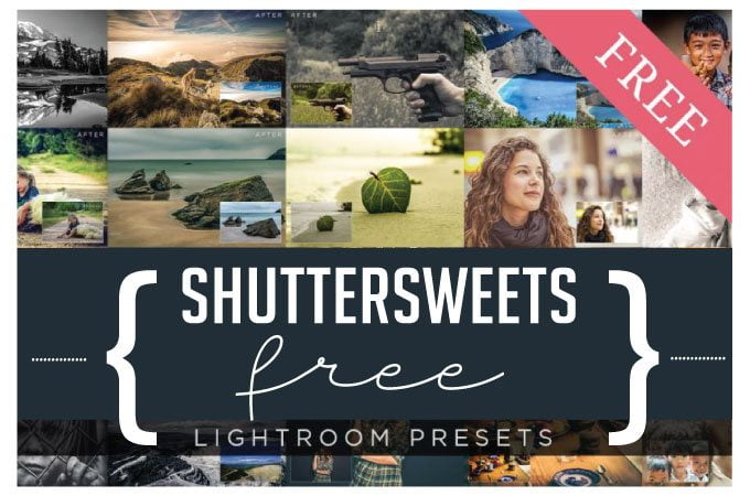 Free Lightroom Presets from Shuttersweets