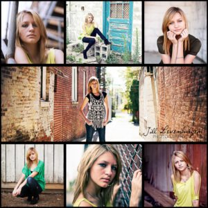 senior photo collage templates - collages 5up 6up 7up flourish free resources for