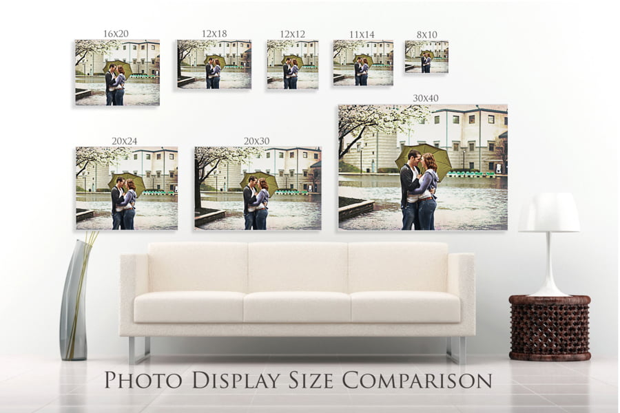 Photo Display Size Comparison - free lightroom wall preview size template-free lightroom template-free lightroom print template-lightroom-lightroom preset-tempalte