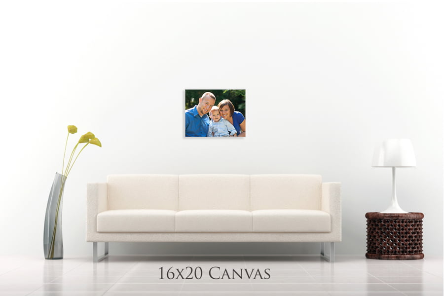 Wall Preview 16x20 Canvas Free Lightroom Size Template