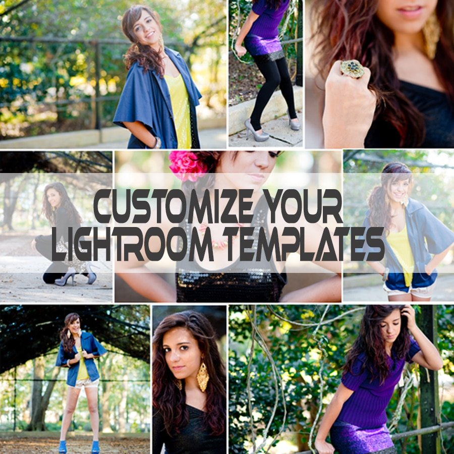 Customize your Lightroom Templates Tutorial - Kathleen Clipper