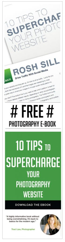 Free Photography E-Book Ten Tips to Supercharge Your Website