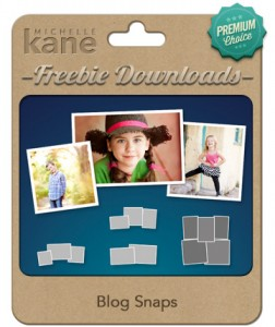 Free Blog Collage Photoshop Template - Michelle Kane