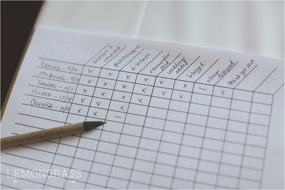 5 Ways To Organize Your Photography Business And Life Planner
