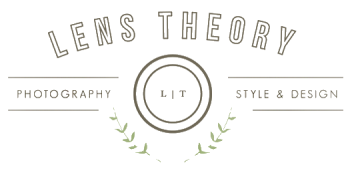 Free Photoshop Template - DIY Business Card - Lens Theory Logo
