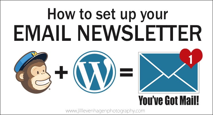 How to set up an Email Newsletter using MailChimp & WordPress