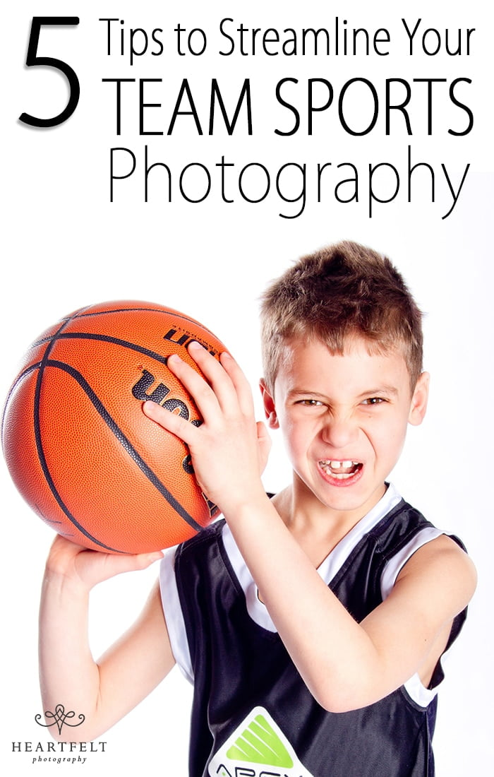 5 tips to streamline your team sports photography - Pinterest