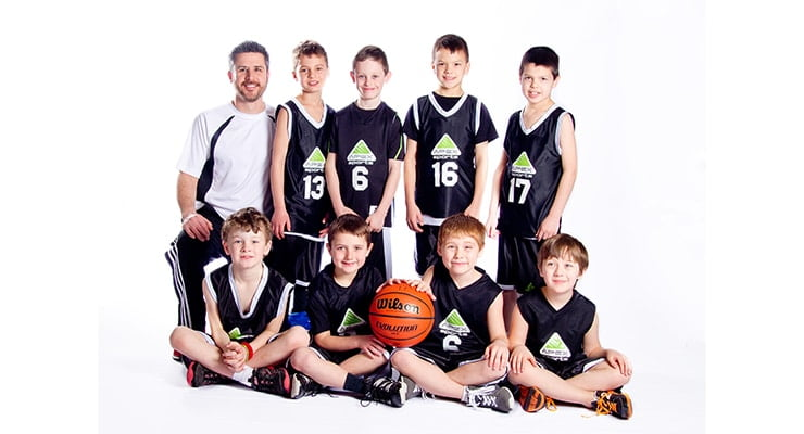5 tips to streamline your team sports photography - team