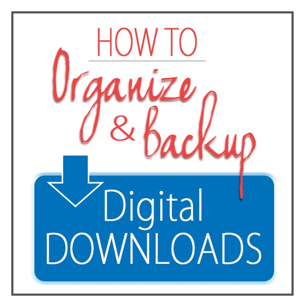 How to Organize and Backup Digital Downloads - Photography