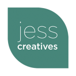 Free Photoshop Christmas Card Templates - Jess Creatives - logo