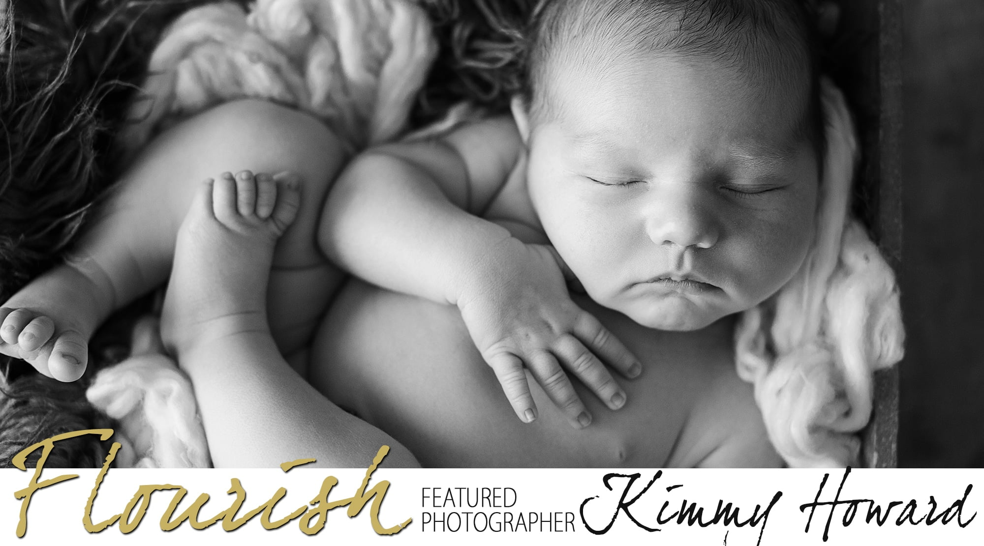 Flourish Featured Photographer | Kimmy Howard | Organic Newborn