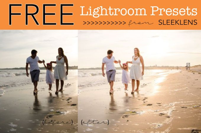 Free Lightroom Presets from Sleeklens