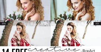 14 Free Creative Photoshop Actions from BreArt Presets
