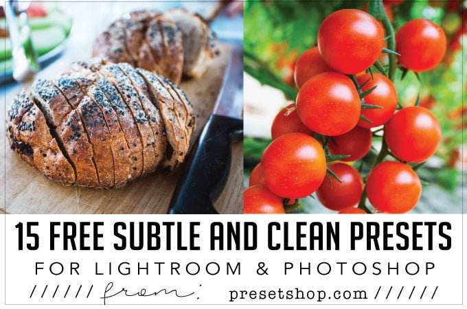 15 free subtle and clean presets for photoshop and lightroom