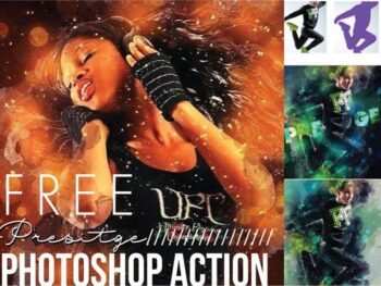 Free Photoshop Textures and Applicator Action