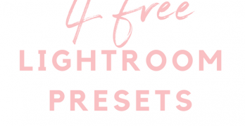 4 Free Lightroom Presets For Travel Photos by No Man Before