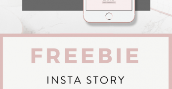 Free Template for Instagram Stories by Blog Pixie